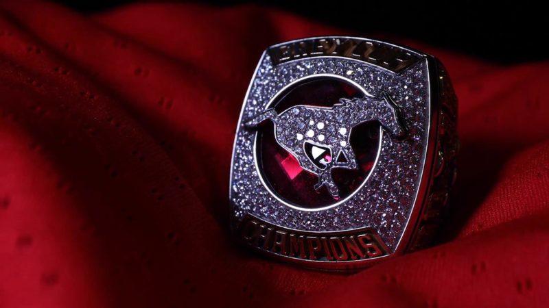 Stampeders Grey Cup Rings