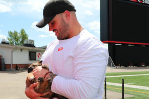 Puppy Day at McMahon Stadium