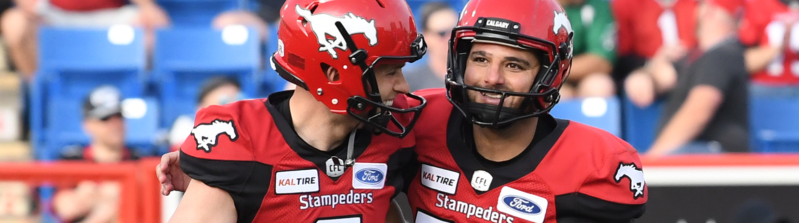 TOGETHER, THEY WERE SOMETHING GREATER - Calgary Stampeders