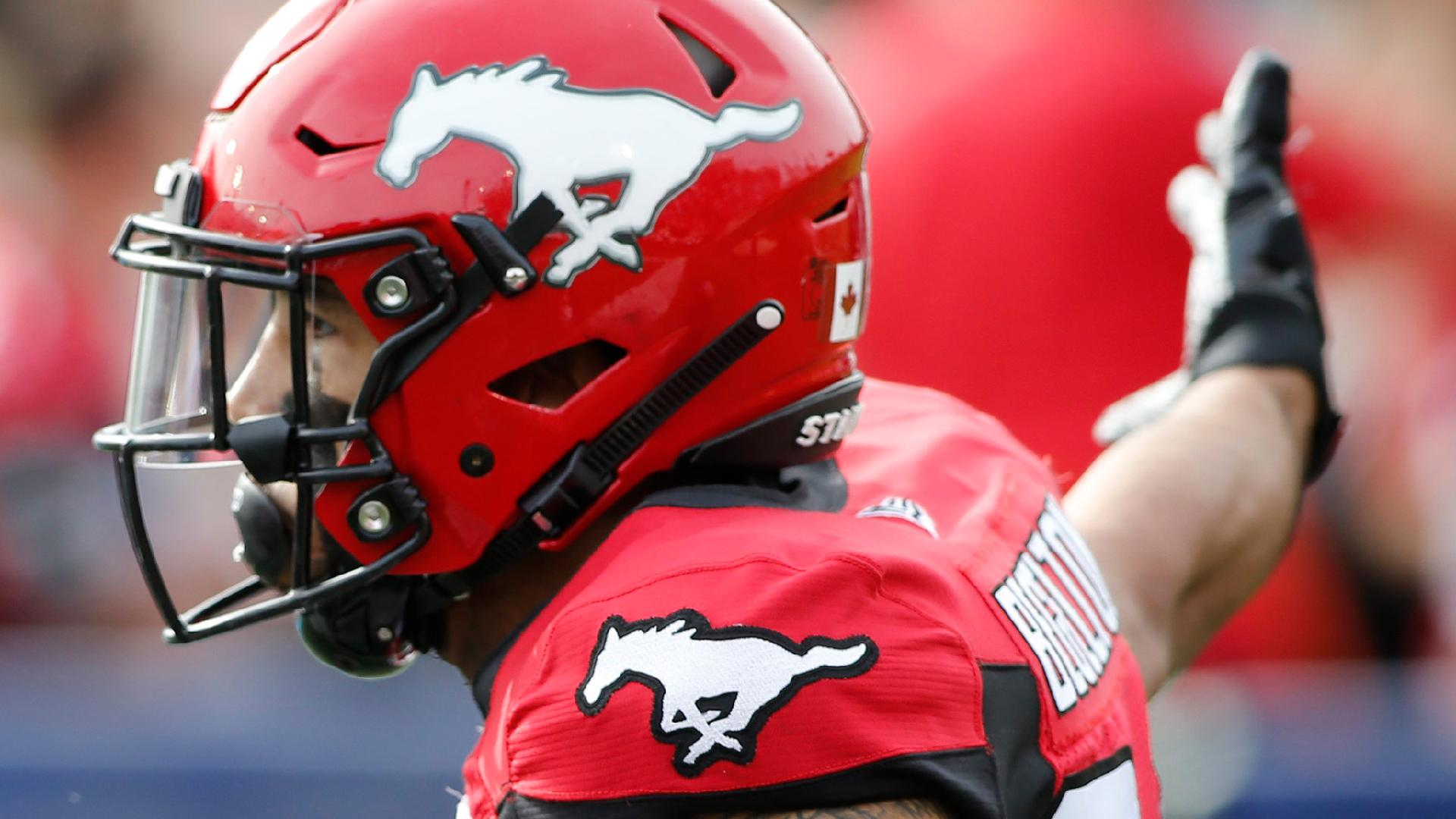 Begelton Goes Off For TD Hat Trick Against Als - Calgary Stampeders