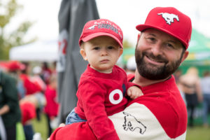 CALGARY, AB - SEPTEMBER 14, 2019: The Calgary Stampeders won 19-18 against the Hamilton Tiger Cats at McMahon Stadium on Saturday Afternoon. (Photo by Eric Boldt/Calgary Stampeders)
