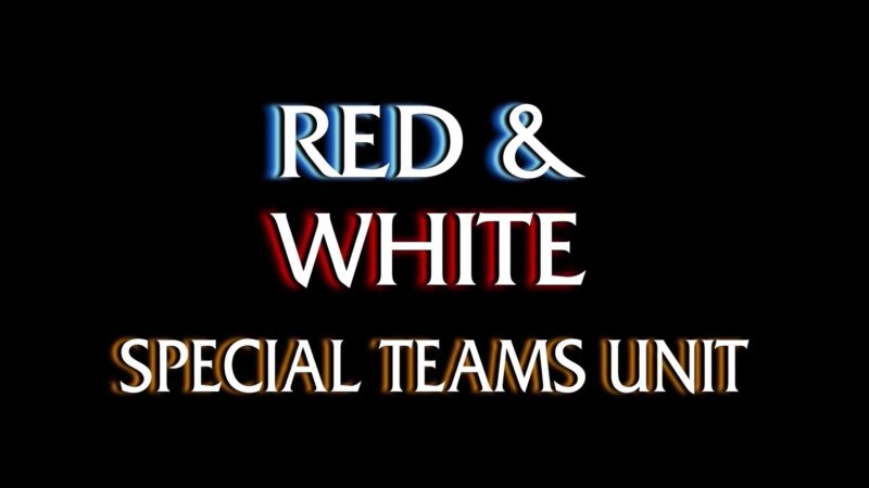 Red & White - Special Teams Unit