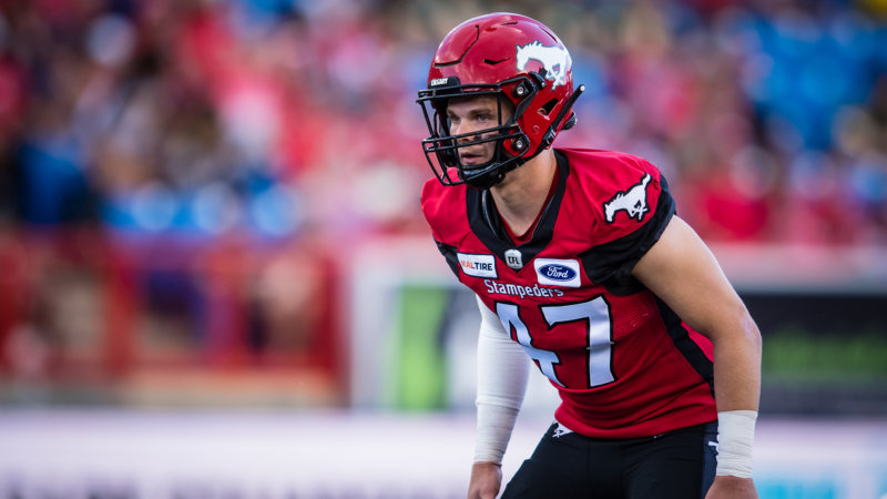 Stampeders Re-sign Fraser Sopik