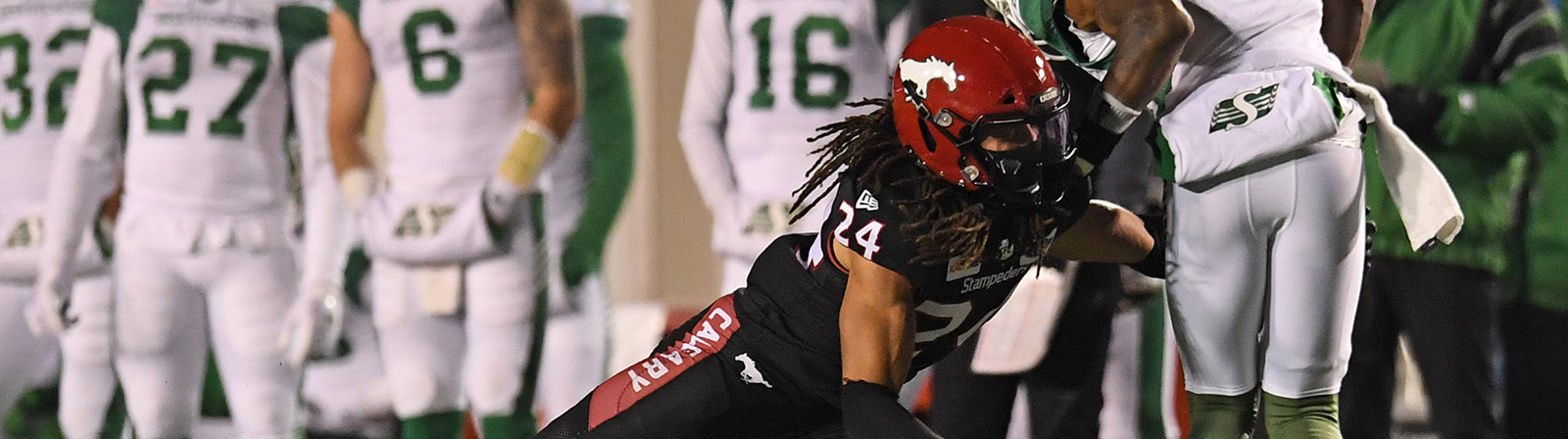 "GILBERT: ""IT FEELS AMAZING"" - Calgary Stampeders"