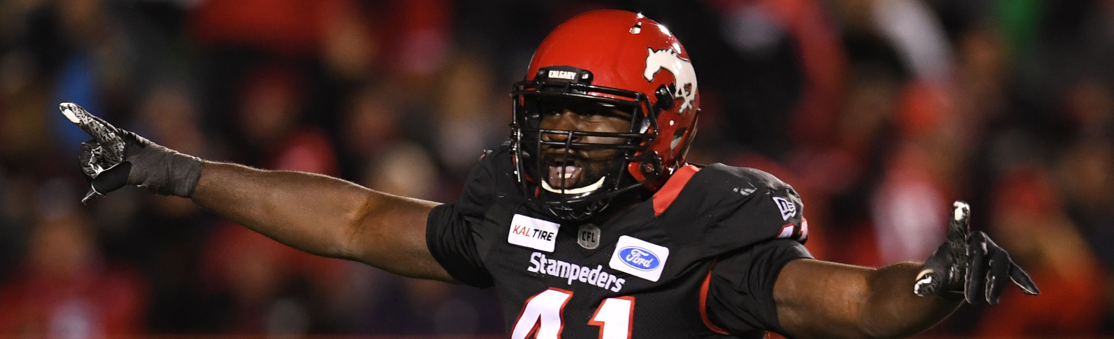 LOOKING OUT FOR NO.-1 - Calgary Stampeders