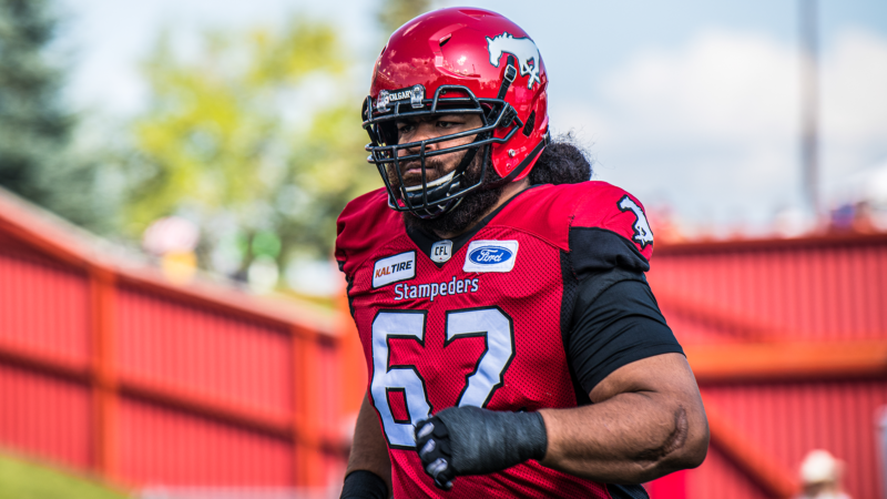 Kasitati Remains With Stampeders