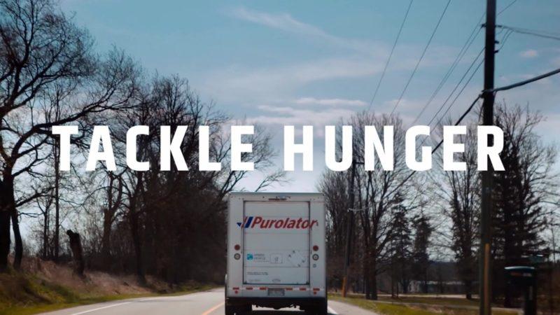 Purolator #TackleHunger