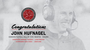 Congratulations Huff!