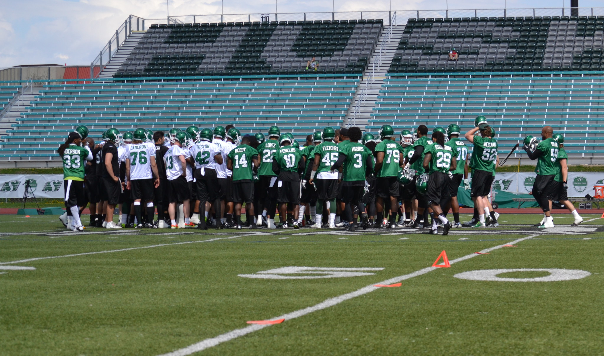 Riders Groundforce Drilling Training Camp Day 3 Report