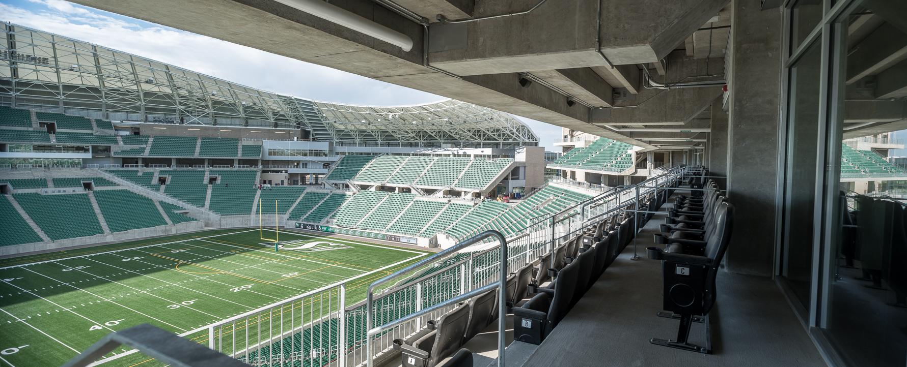 Experience Premium Seating Saskatchewan Roughriders