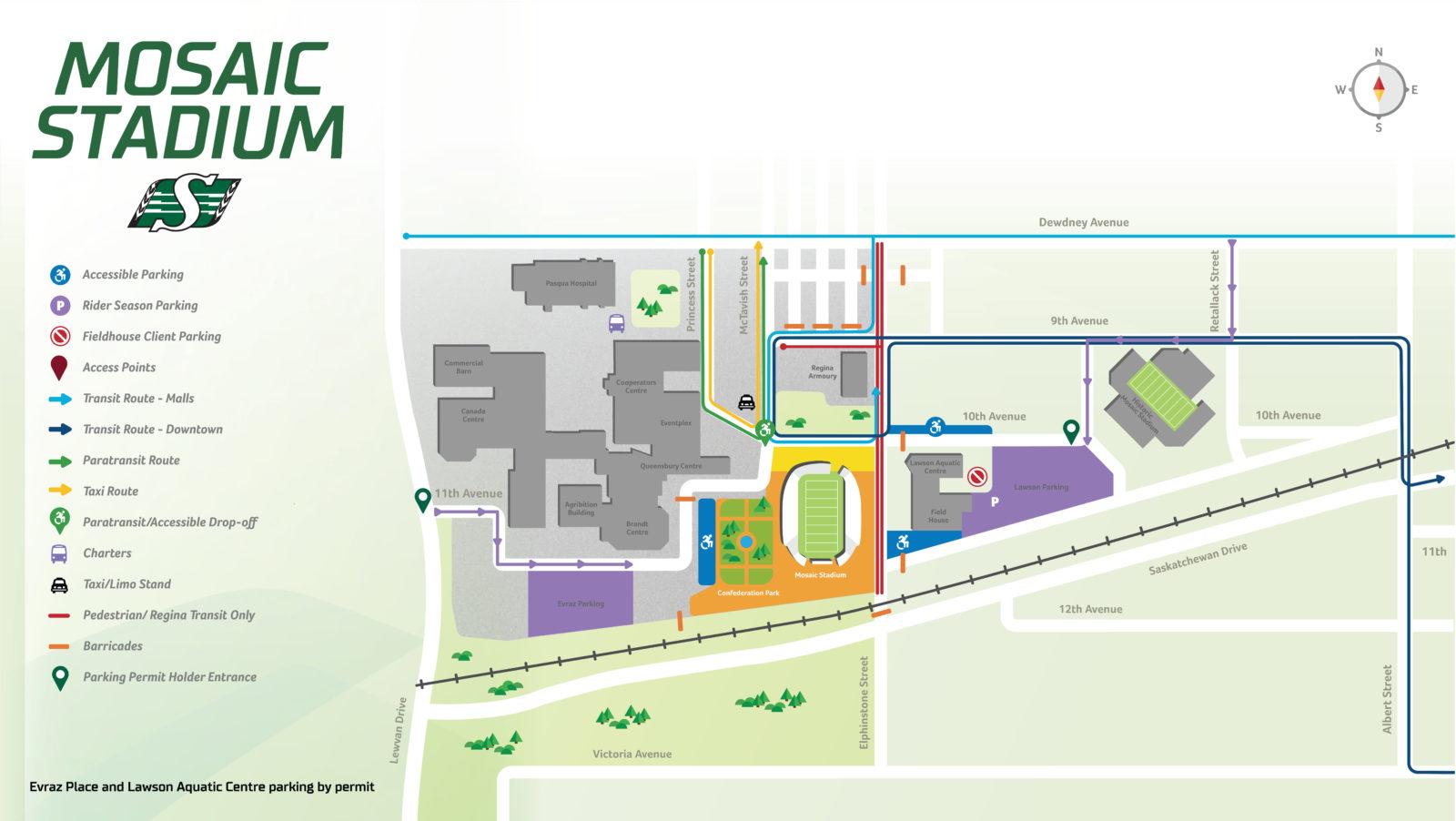 Parking Map 2017