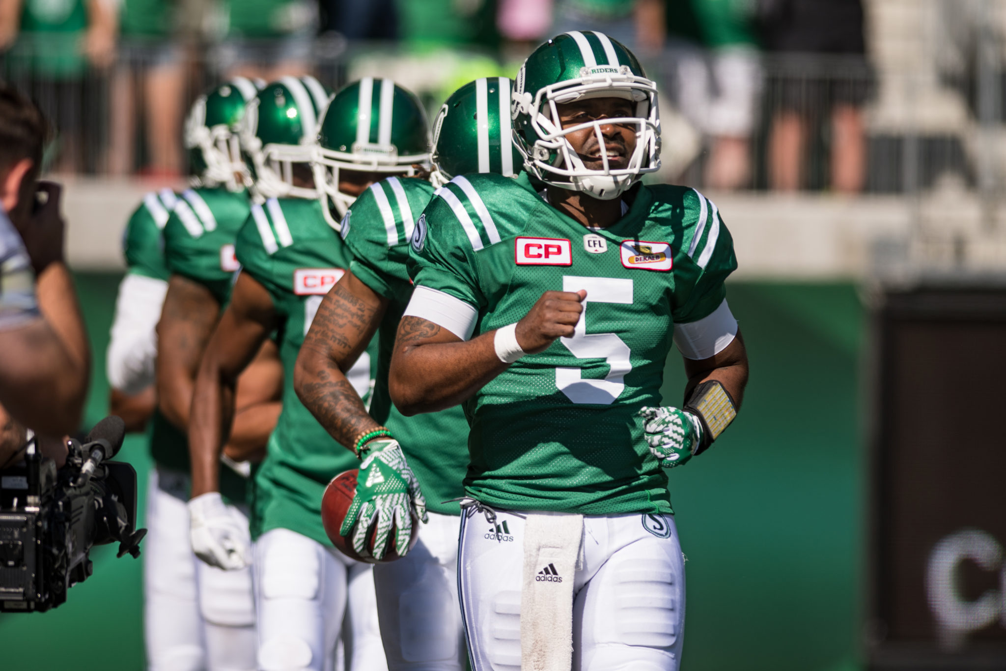 55630cd1062 Roughriders receivers are revelling in their hat trick ...