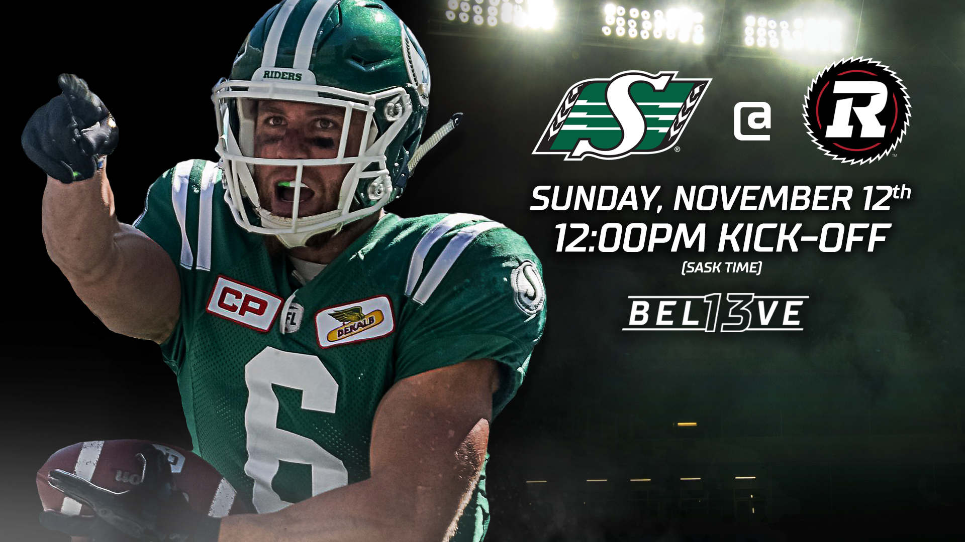 The Roughriders Face The Redblacks In The East Semifinal Saskatchewan Roughriders