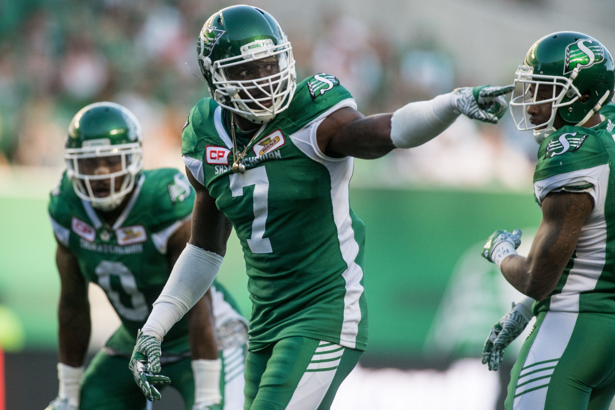 Getting pressure is the name of the game - Saskatchewan