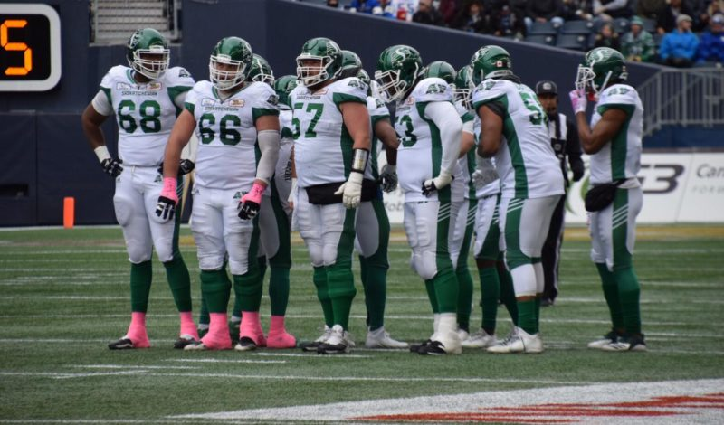Notebook: The Roughriders' offence hits a snag