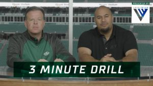 3 Minute Drill: Big Home Game Against the Eskimos