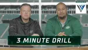 3 Minute Drill: Big Win at Home