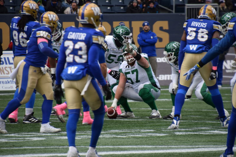 The Roughriders have moved on from Winnipeg
