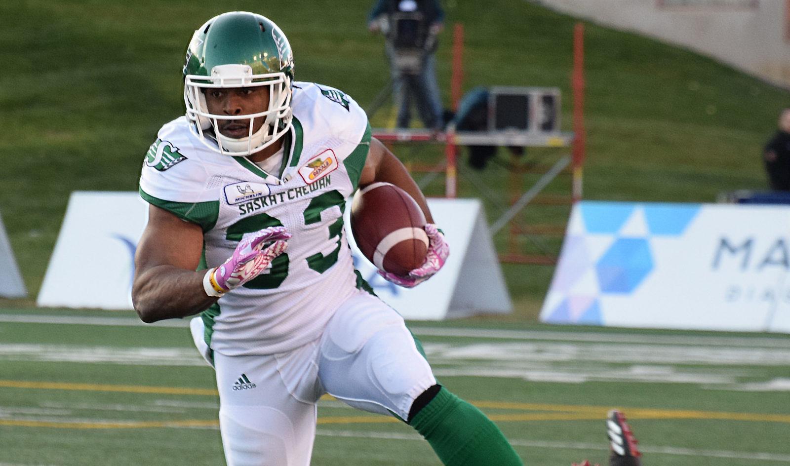 Cameron Marshall returns with a vengeance - Saskatchewan Roughriders 90acc70aac6
