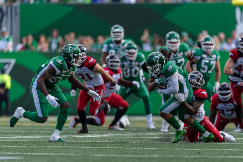 The Roughriders gear up to face the Stamps