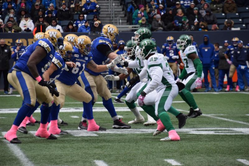 The Bombers blank the Roughriders