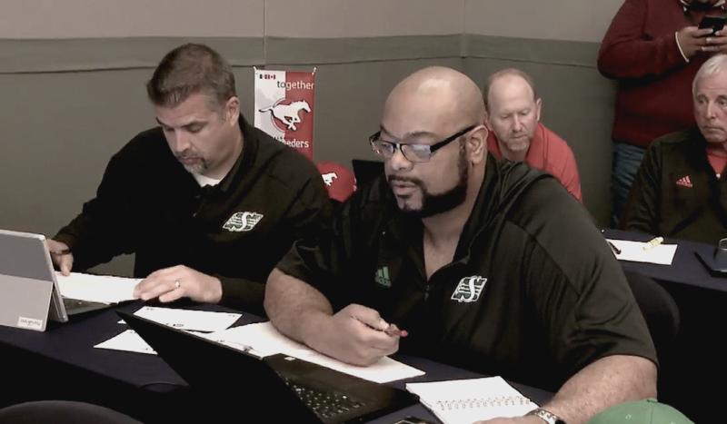Riders select three at inaugural CFL-LFA Draft