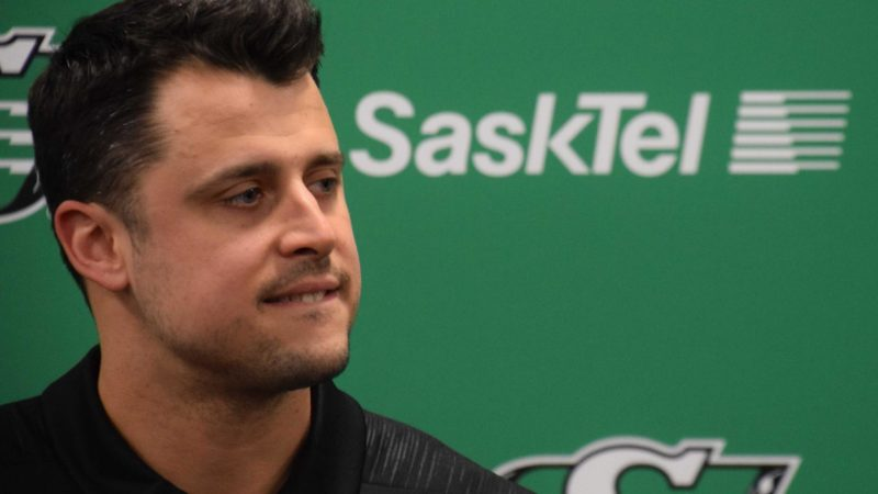 Zach Collaros Free Agency Press Conference