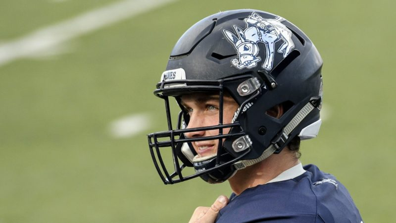RIDERS SIGN QUARTERBACK ISAAC HARKER