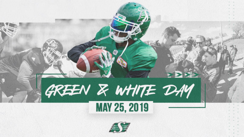 Green and White Day: May 25th