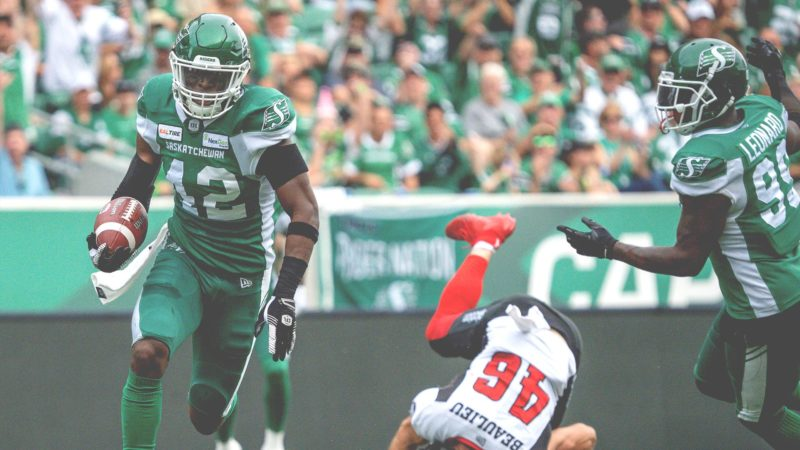Riders Rack Up 3 INT In One Quarter