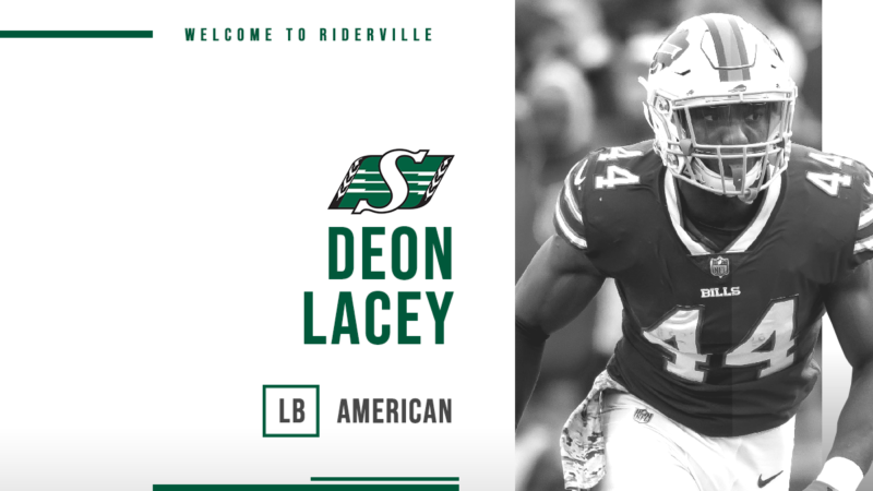 Deon Lacey Joins the Green and White