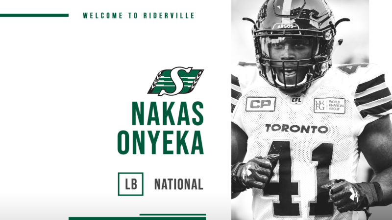Riders Sign Nakas Onyeka