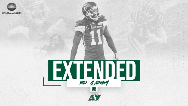 Gainey Stays In Green And White