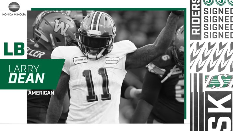 Linebacker Larry Dean Joins The Green And White