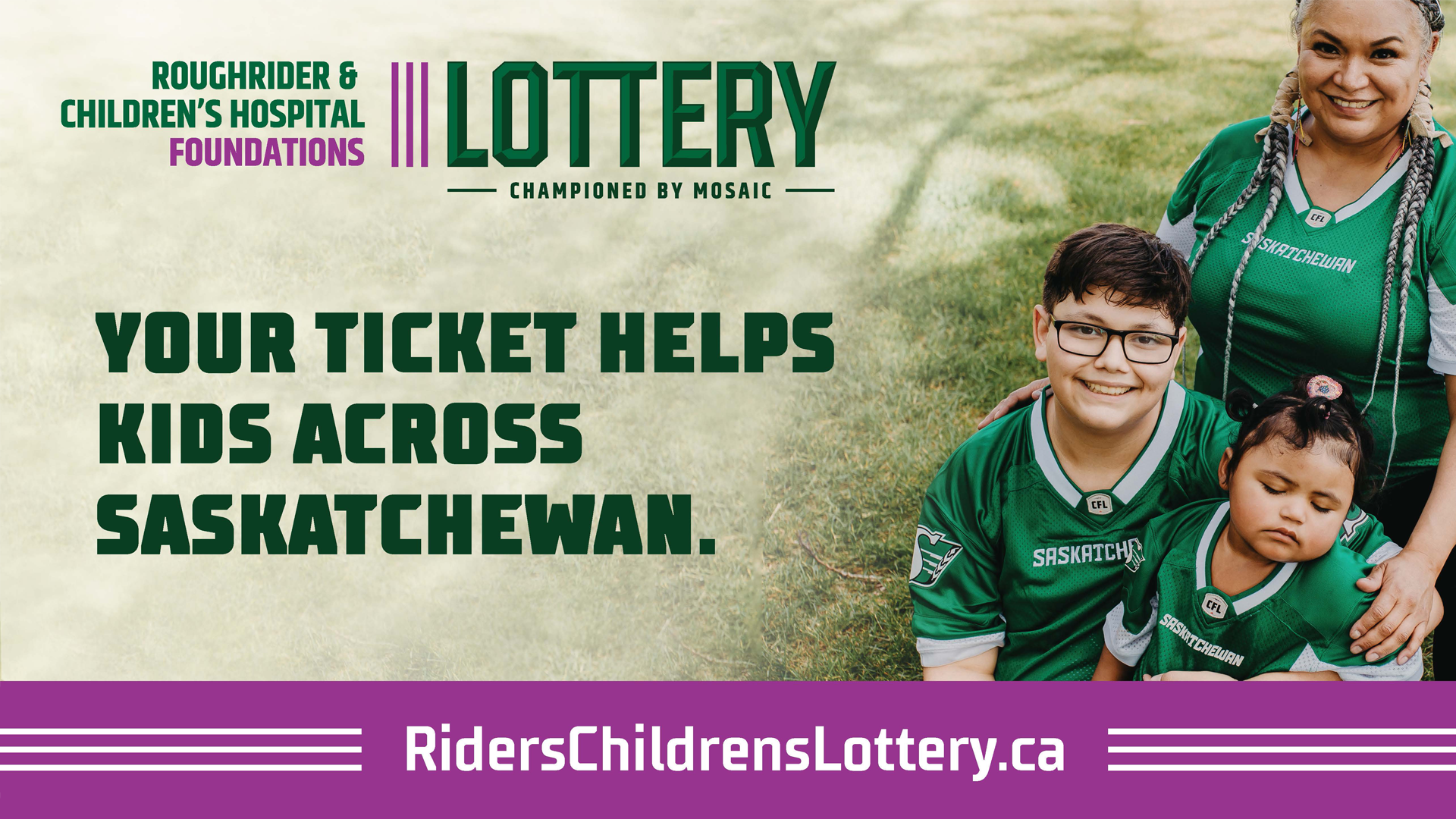 Roughrider & Children's Hospital Foundations Lottery