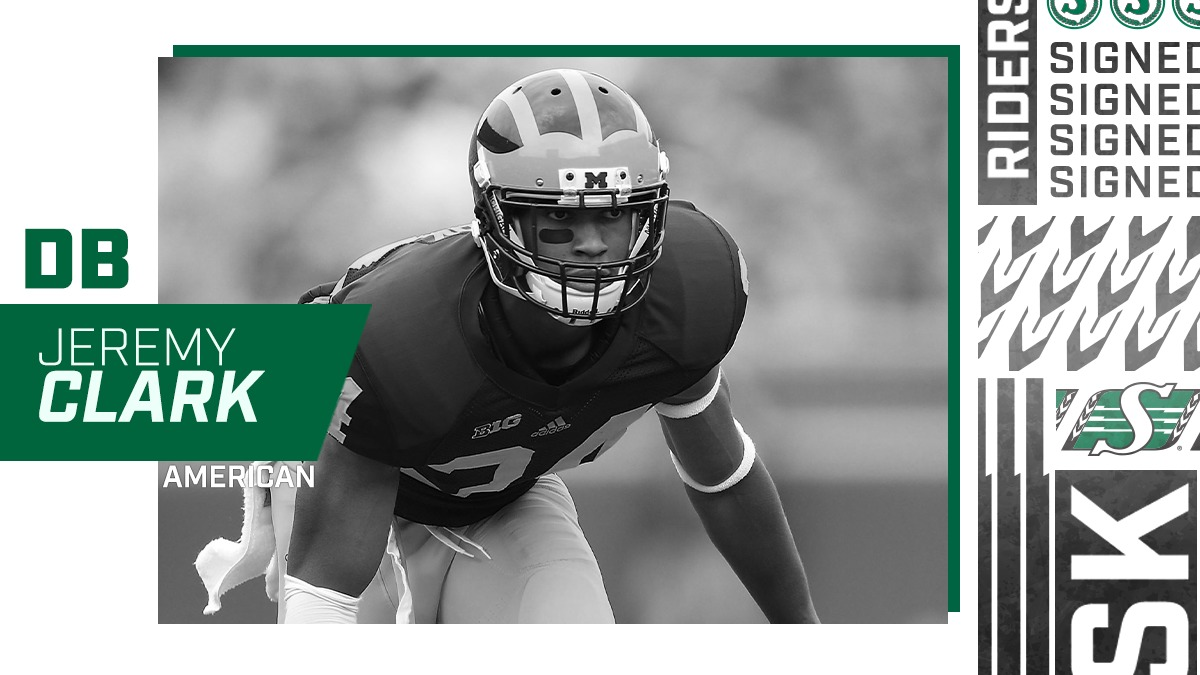 Roughriders Sign Defensive Back Jeremy Clark