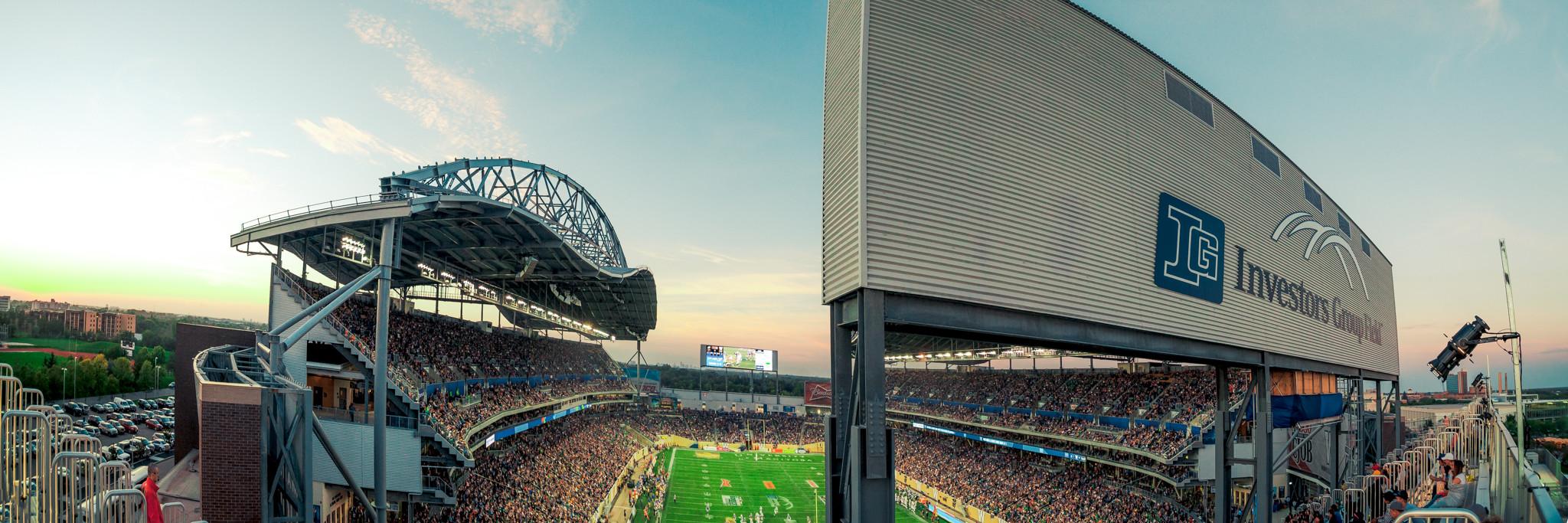 Stadium Information - Winnipeg Blue Bombers