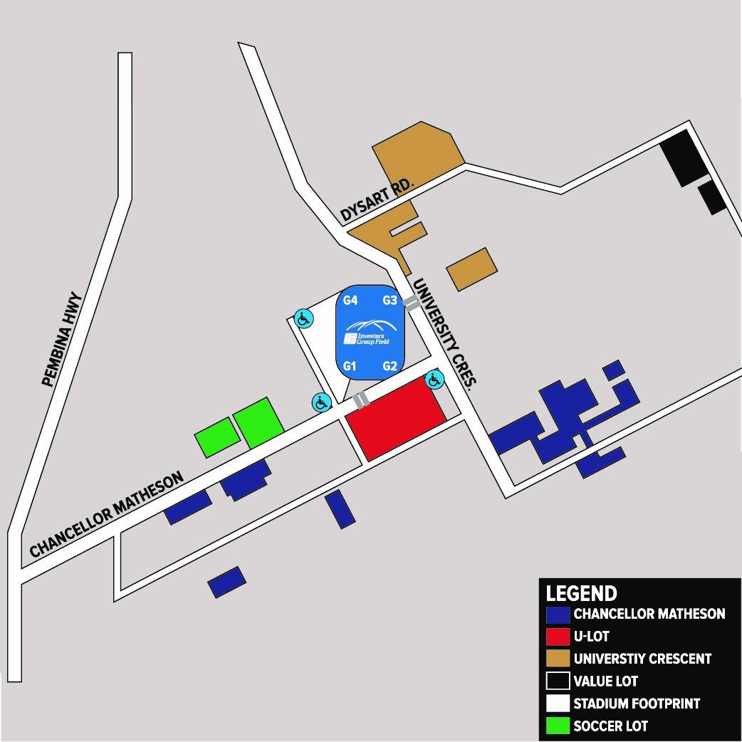 Parking Map 2.0 - Green Soccer Lot