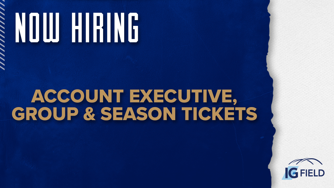 Account Executive, Group and Season Tickets - Job Posting