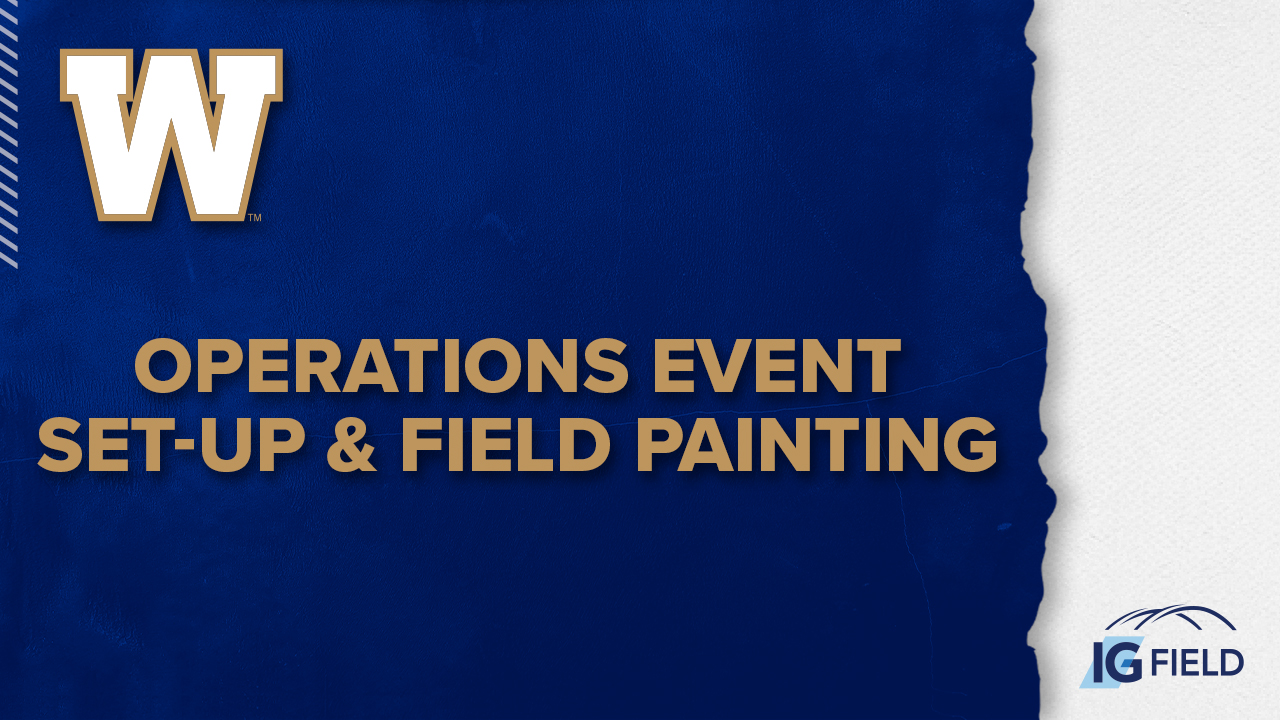 Operations Event Set-Up & Field Painting - Job Posting