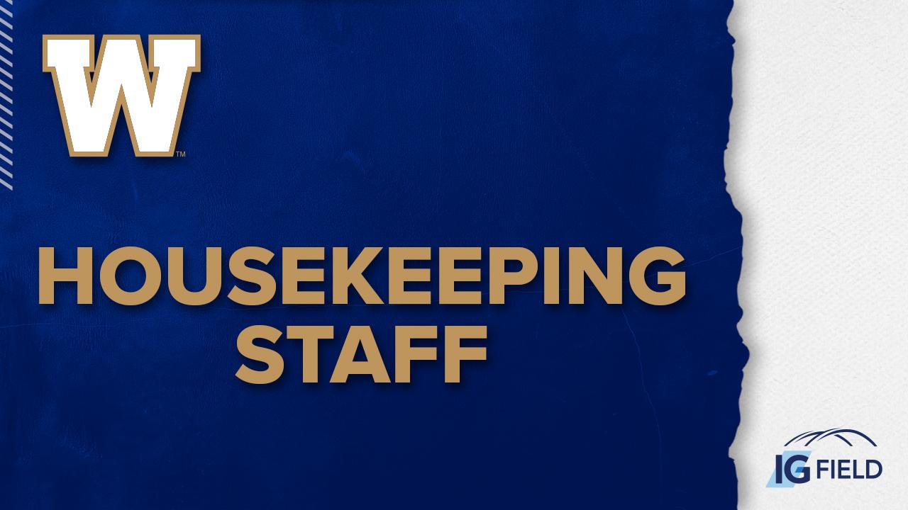 Housekeeping Staff - Job Posting