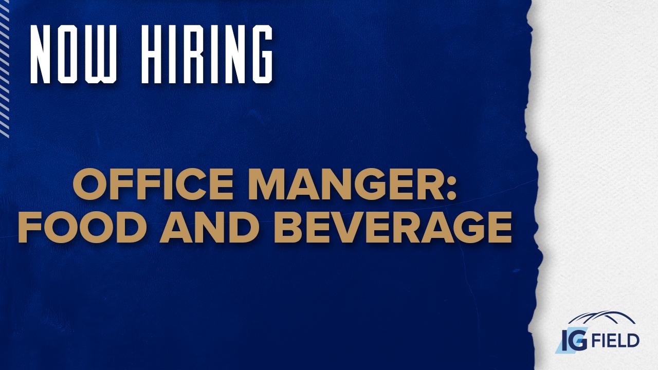 Office Manger- Food and Beverage - Job Posting