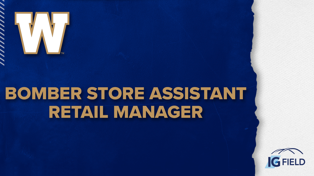 Bomber Store Assistant Retail Manager - Job Posting