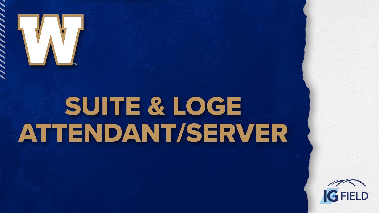 Suite & Loge Attendant/Server - Job Posting