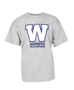 dff550ccd97 Wordmark Grey Tee. This Winnipeg Blue Bombers ...