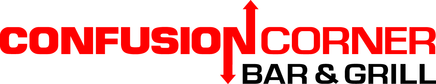Confusion Corner Bar and Grill Logo