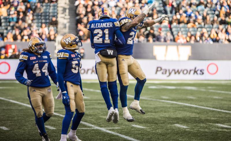 Mike Miller 24 - BC Lions @ Winnipeg Blue Bombers, October 14, 2017 - Kyle Thomas Photo