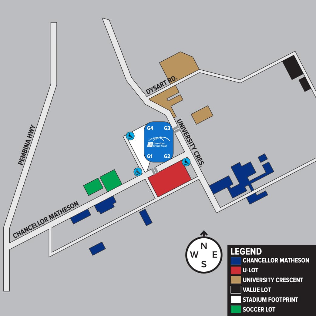 Parking Map 2.0 - Green Soccer Lot