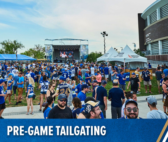 Winnipeg Blue Bombers - Pre-Game Tailgating