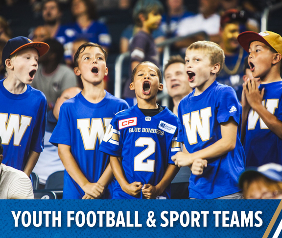 Winnipeg Blue Bombers - Youth Football and Sports Teams